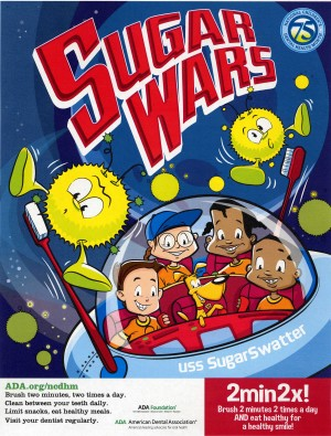 ADA Sugar Wars Poster